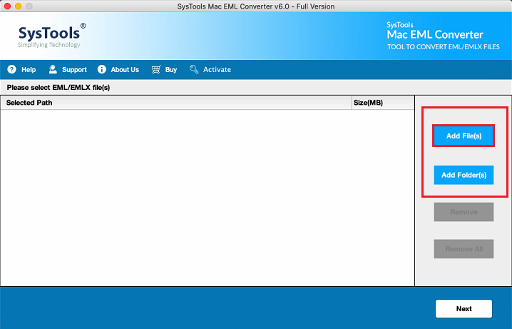 Mac EML File to PDF Converter