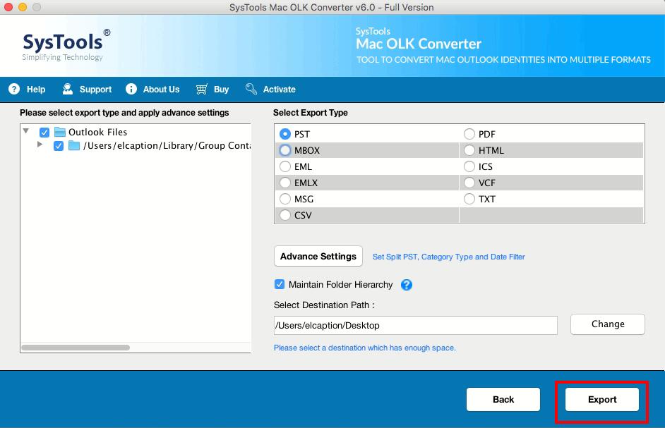 OLK to MSG converter Wizard Mac