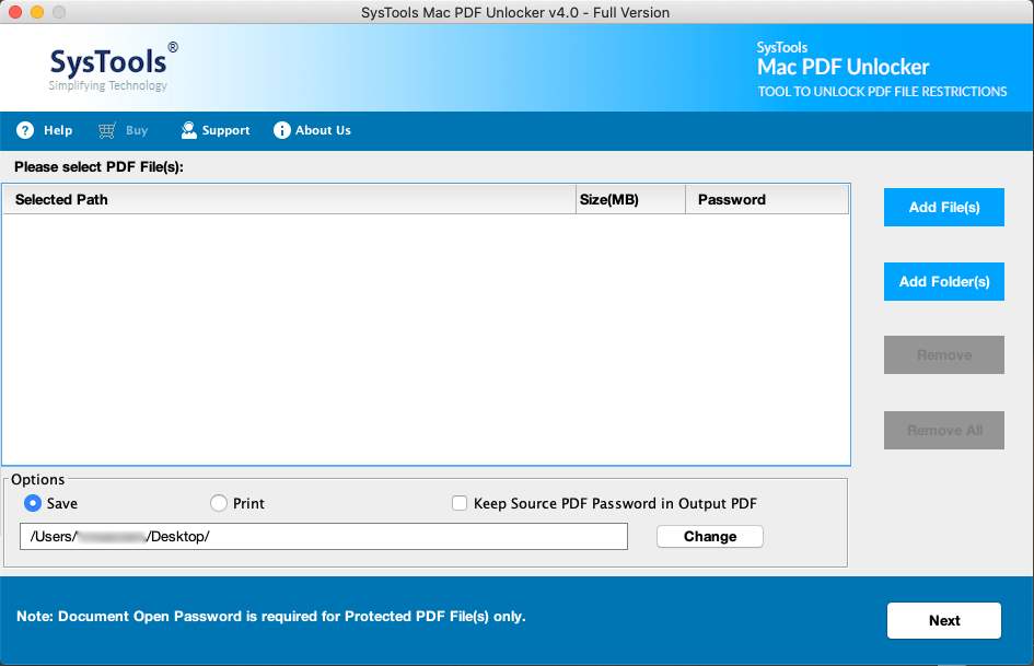 pdf file unlocker for mac