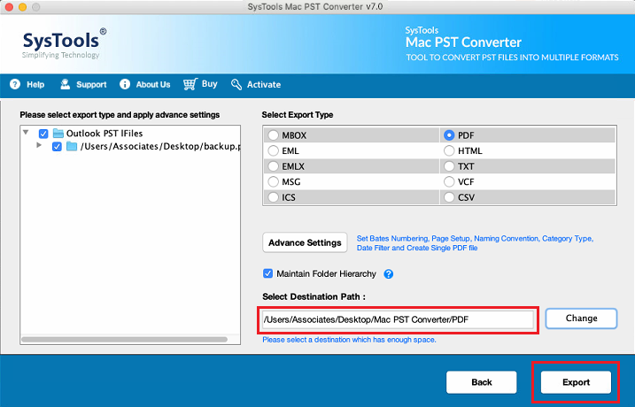 batch convert pst to pdf without outlook